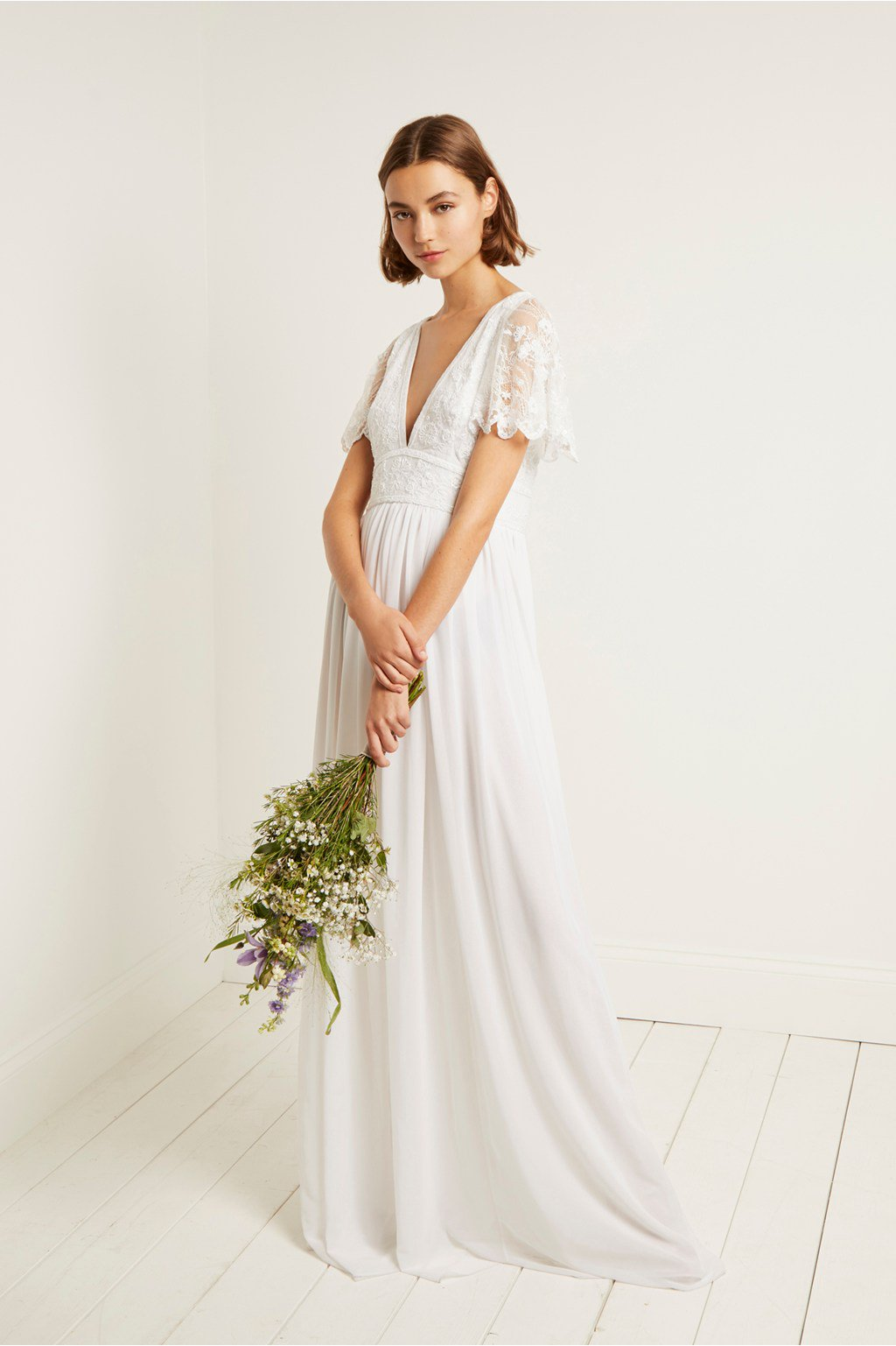 4fcc8c35b40 French Collection s latest bridal collection has dresses for under ...
