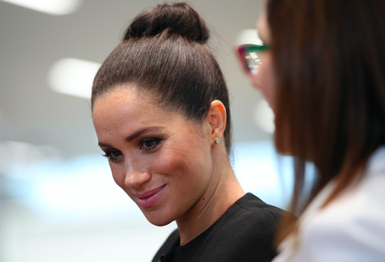 Duchess Meghan Markle Wears Chic Look From a Very Familiar Designer!
