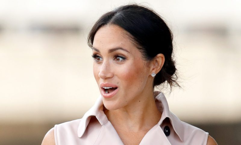 Duchess Meghan dazzles in white at the Natural History Museum