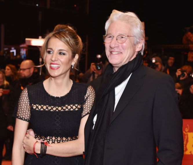 It's a Boy! Richard Gere and Wife Alejandra Silva Welcome a Son