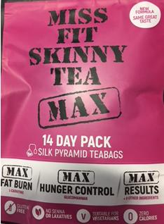 Urgent recall of Miss Fit Skinny Tea products sold in Ireland over 'misleading labelling'