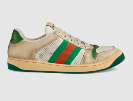 So, Gucci is selling a pair of filthy runners for a casual