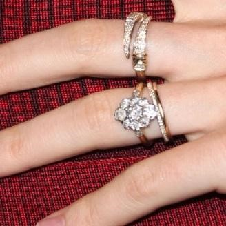 So Katy Perry's engagement ring is kind of like the one Orlando Bloom gave ex Miranda Kerr