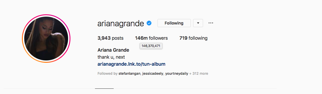 This singer just overtook Selena Gomez as the most followed
