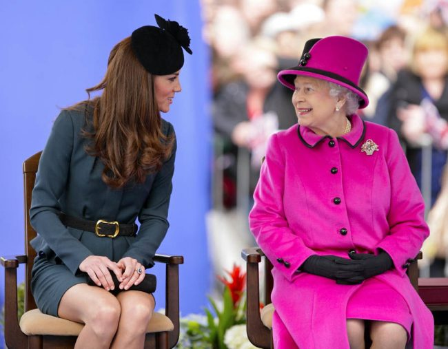 Kate Middleton and Meghan Markle laugh off rift rumours