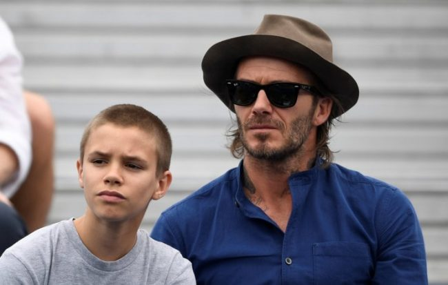 Romeo Beckham reportedly dating Millie Bobby Brown