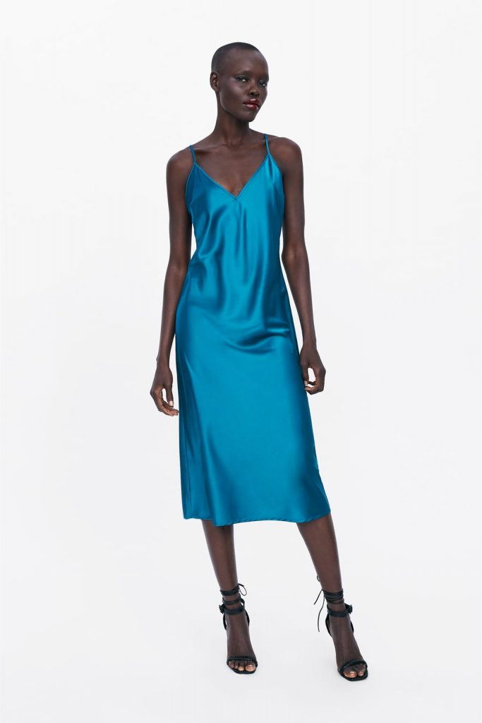 a03eea6ad6c3 This €30 Zara dress would be gorgeous for a summer wedding and there ...