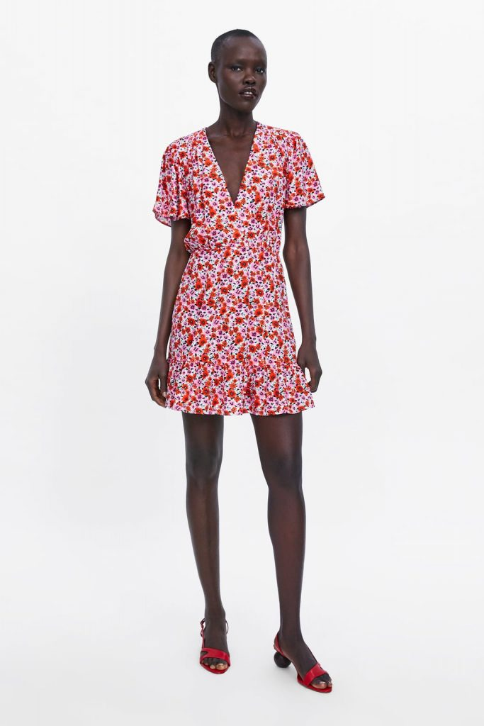 4b67507030cc The floral €40 Zara dress that has us dreaming of gorgeous summer ...