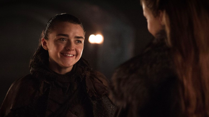 Maisie Williams Thought Arya and Gendry's Big Scene Was a Prank