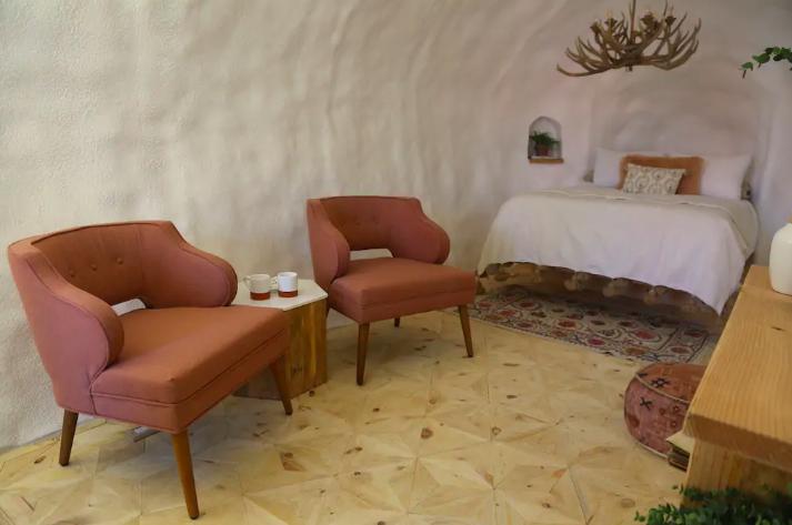 Giant potato turns into Airbnb rental