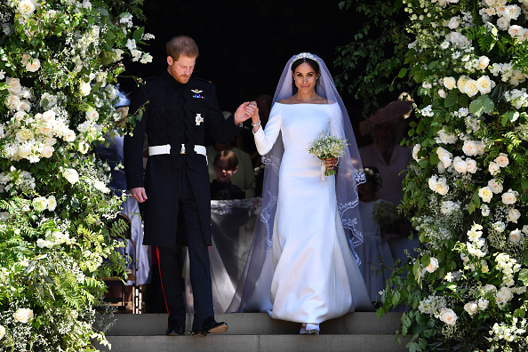 Prince Harry & Meghan Share New Wedding Snaps To Mark Their One Year