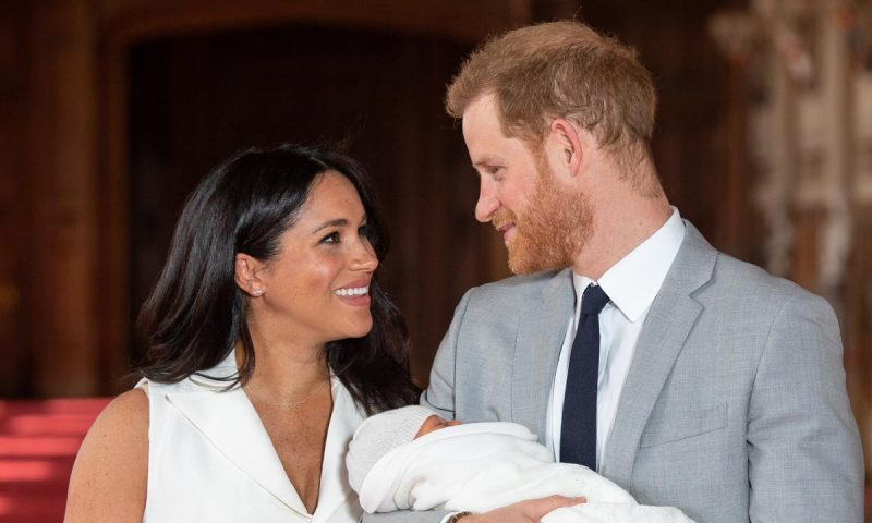 New Mom Meghan Markle Posts a Cute Picture of Baby Archie on Mother's Day!