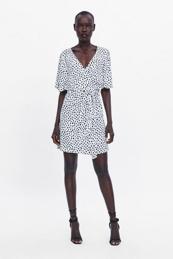 €40 Zara wrap dress