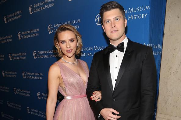 Scarlett Johansson And Her Comedian Boyfriend Colin Jost Just Got Engaged Her Ie