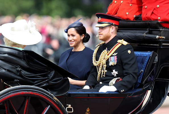 Meghan Markle Makes Her First Royal Appearance Since Having Her Bub