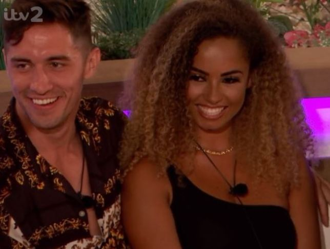 Love Island's Amber and Greg took nearly half the vote