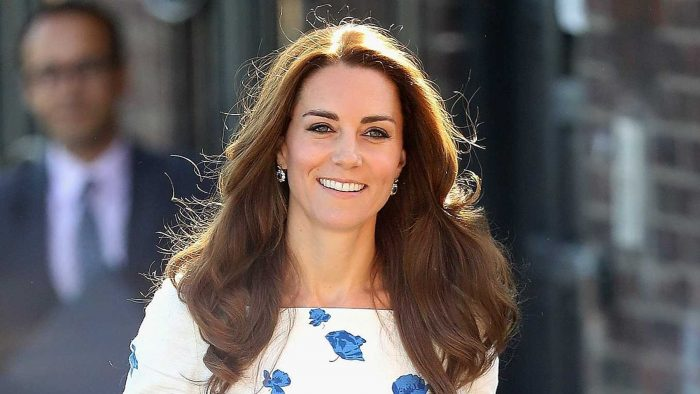 Kate Middleton charmed a stylish outfit polka dot