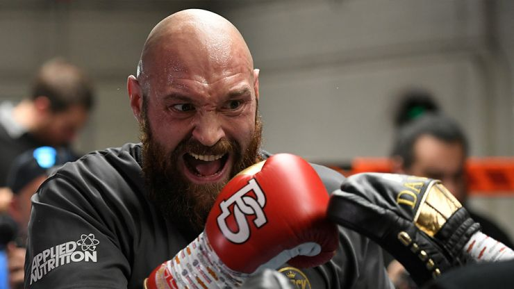 I would have loved to, but   ' Tyson Fury on the reason he didn't