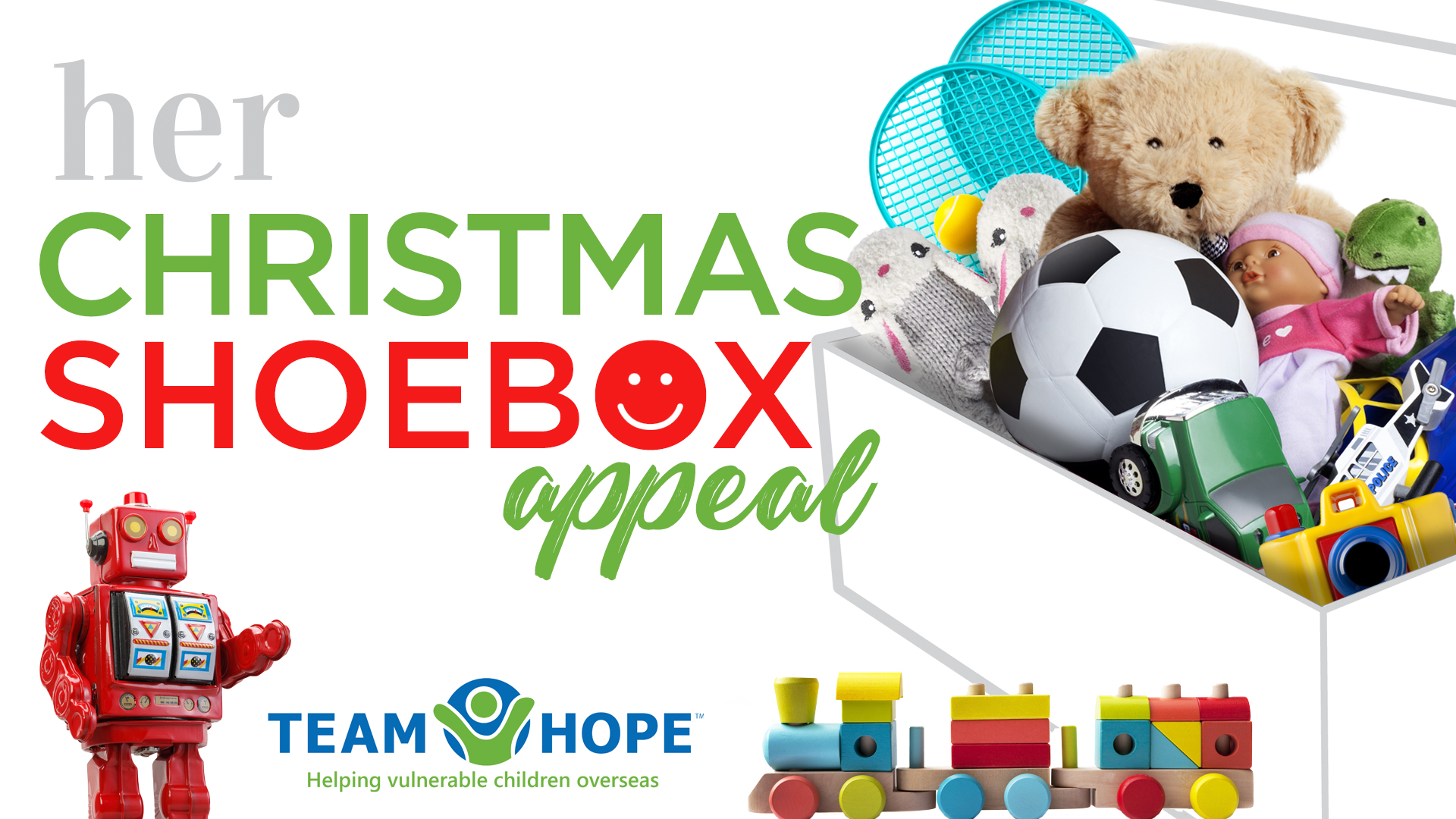Christmas Shoebox.Every Box Counts This Year S Team Hope Shoebox Appeal Is