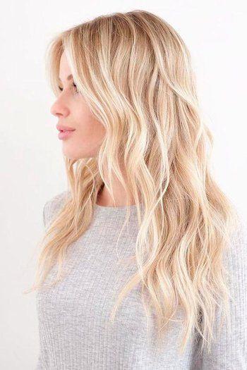 antique gold hair