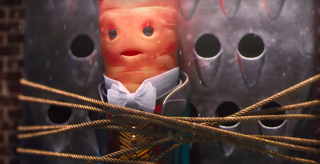 Kevin The Carrot Faces The Leafy Blinders In 2019 Aldi Christmas Ad