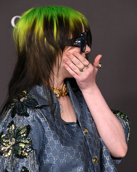 The story behind Billie Eilish's new mullet haircut is wild