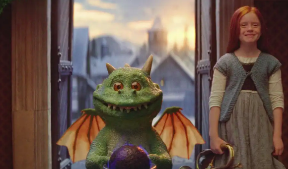 Excitable Edgar the star of joint John Lewis and Waitrose Christmas ad