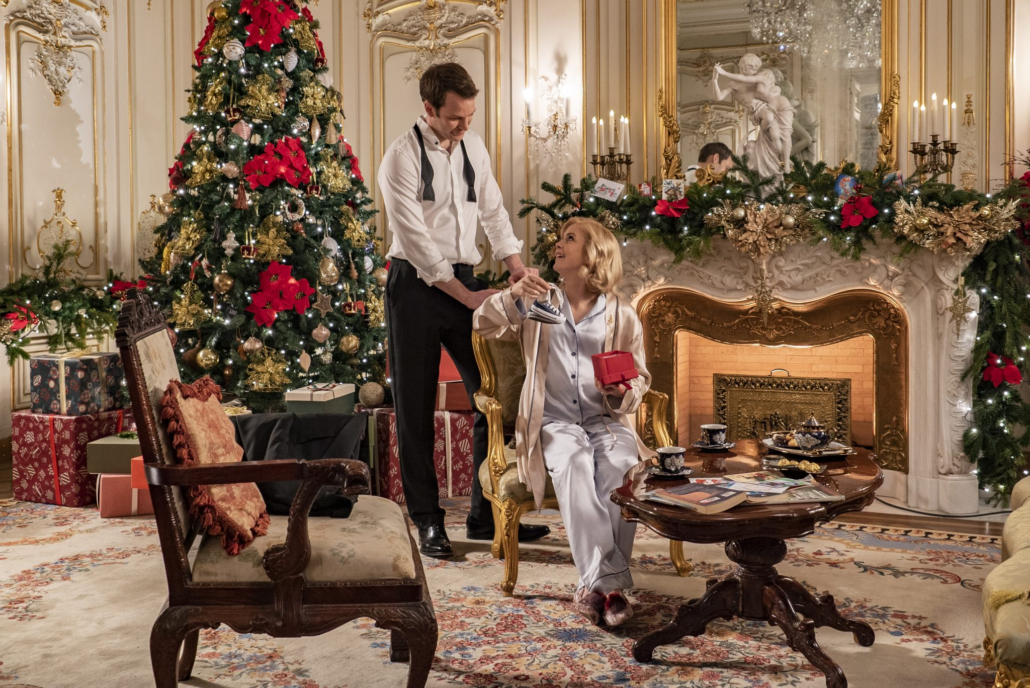 The trailer for 'A Christmas Prince: The Royal Baby' has finally landed