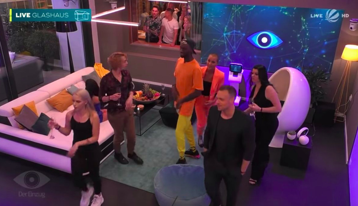 Watch the 'Big Brother' Germany cast find out about the coronavirus pandemic