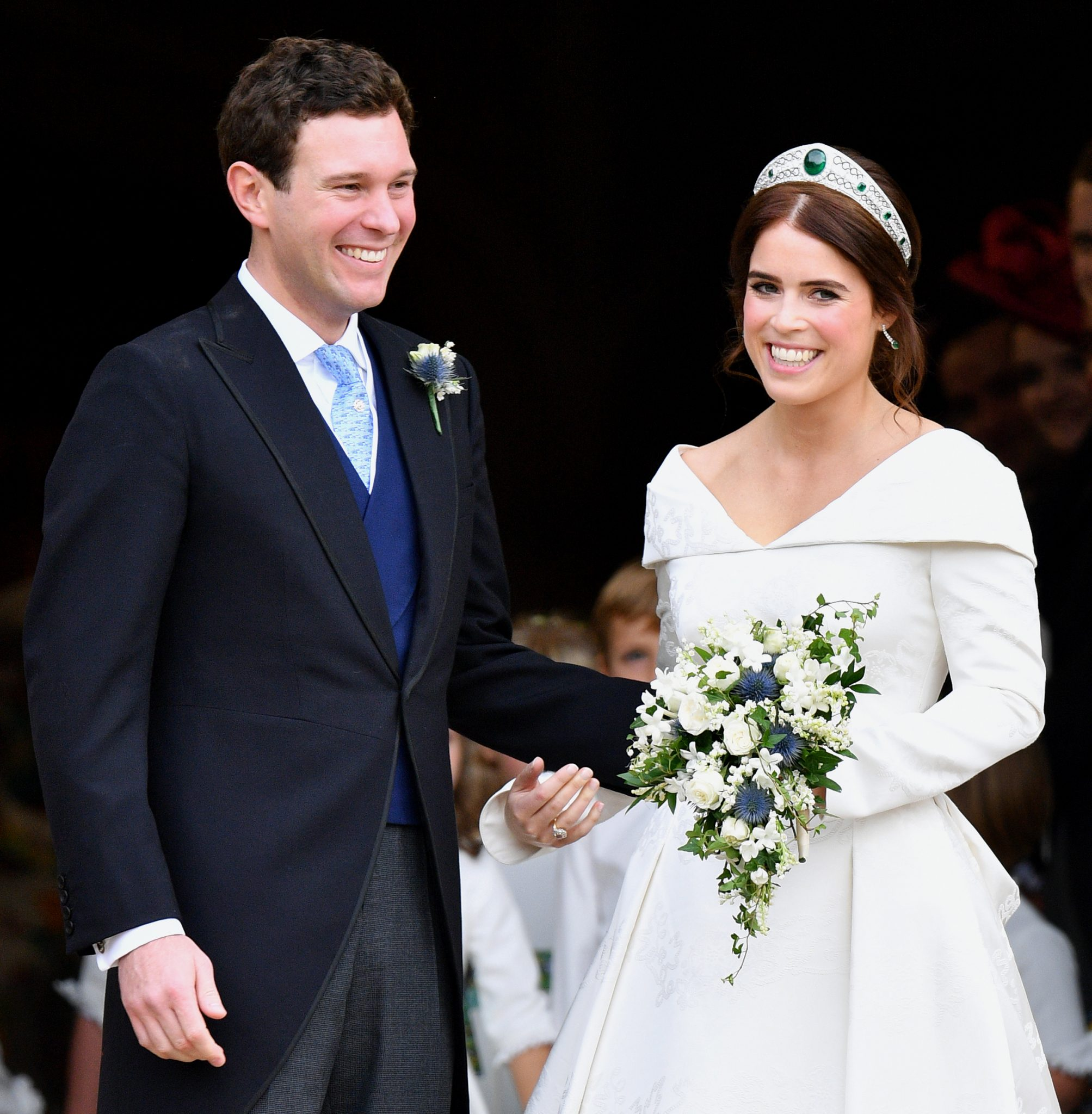 Britain's Princess Eugenie is expecting her first child