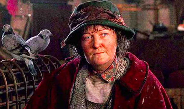 Brenda Fricker as Pigeon Lady in Home Alone