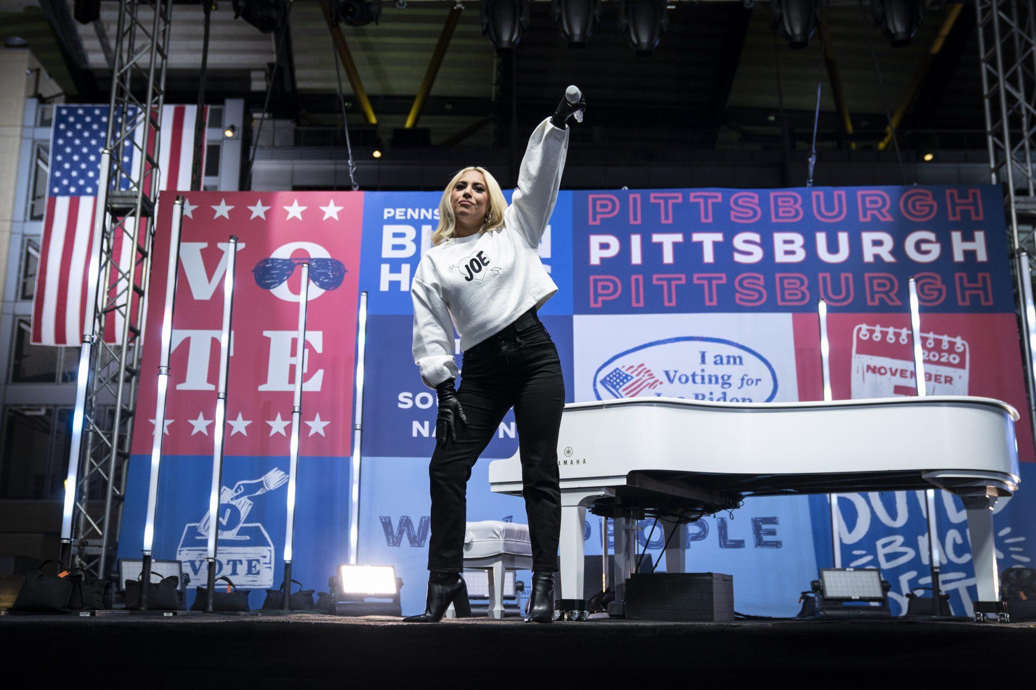 Biden inauguration music: watch Lady Gagas national